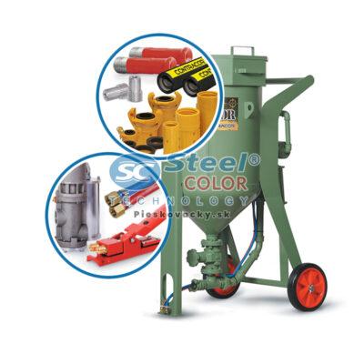 Mobilná tlaková pieskovačka BlastRazor set CONTRACOR